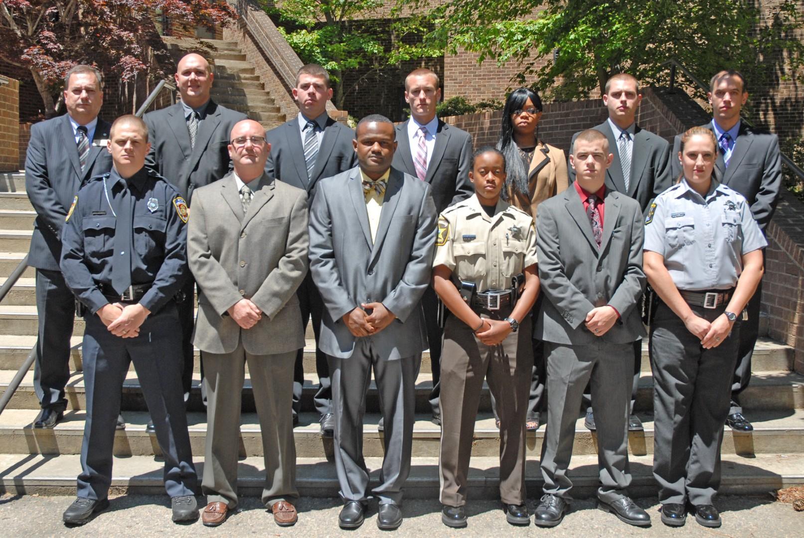 Vgcc Graduates 12 Law Enforcement Cadets In Schools 96th Blet Class