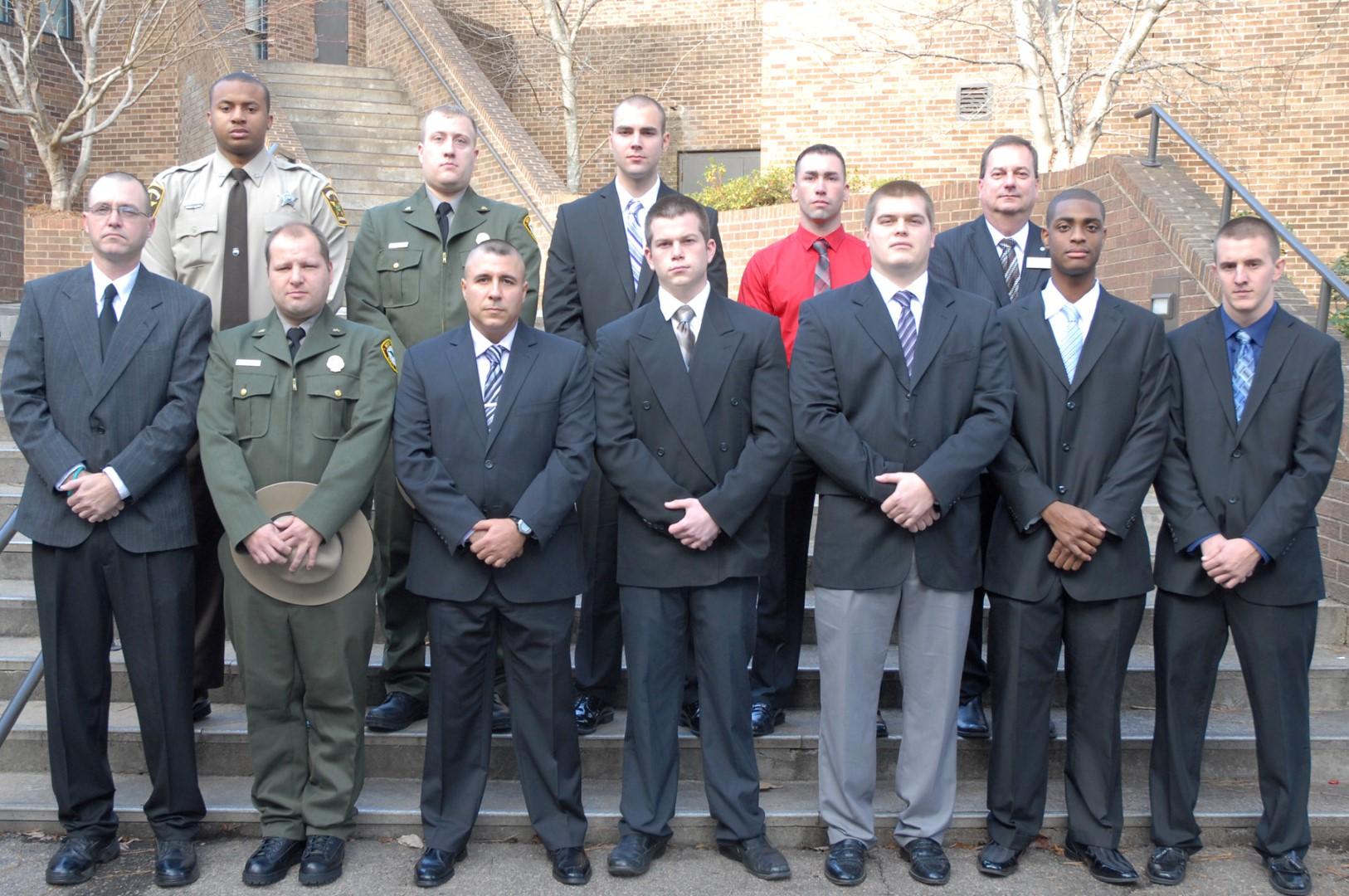 Vgcc Graduates 11 Law Enforcement Cadets In Schools 97th Blet Class