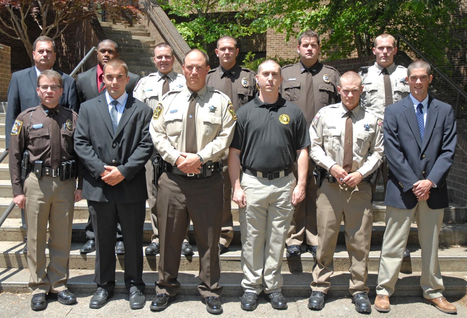 Vgcc Graduates 11 Law Enforcement Cadets In Schools 98th Blet Class