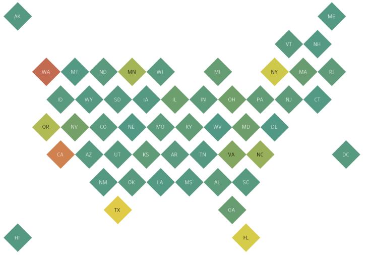Tableau Map Overlap Label