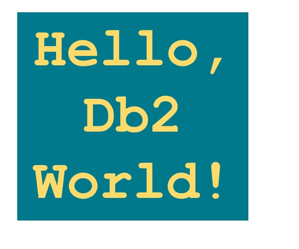 Hello, Db2 World! – How to Connect to a Db2 (LUW) Database