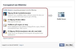 Profile Viewer Facebook spam - Datahjelperne no