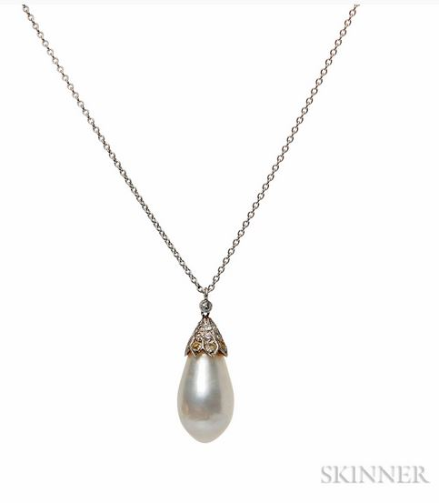 Natural Pearl Pendant Archives Data In The Rough