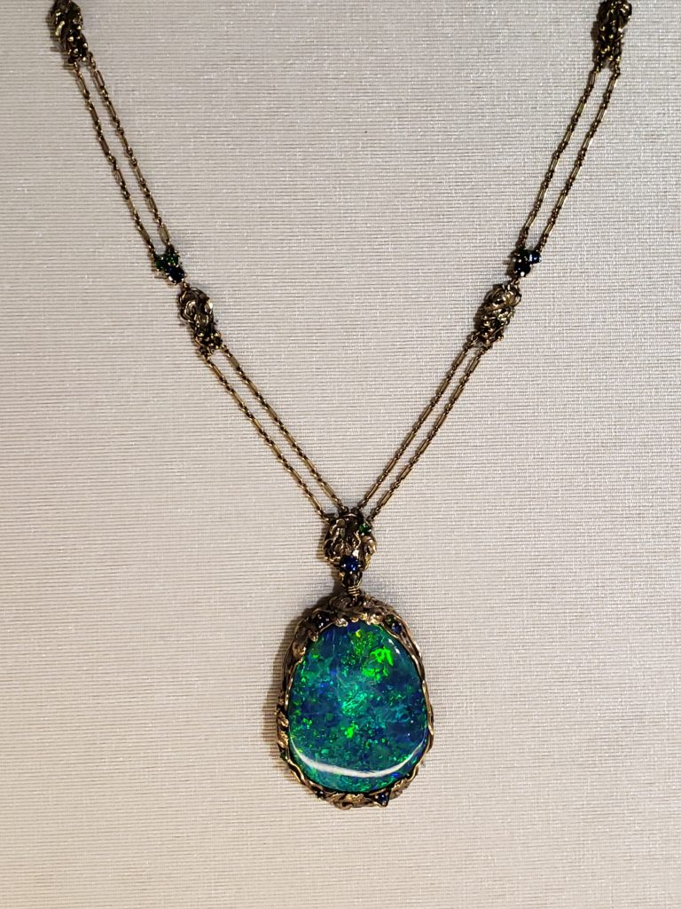 Boston-Arts-and-Crafts-Black-Opal-Tiffany-Necklace