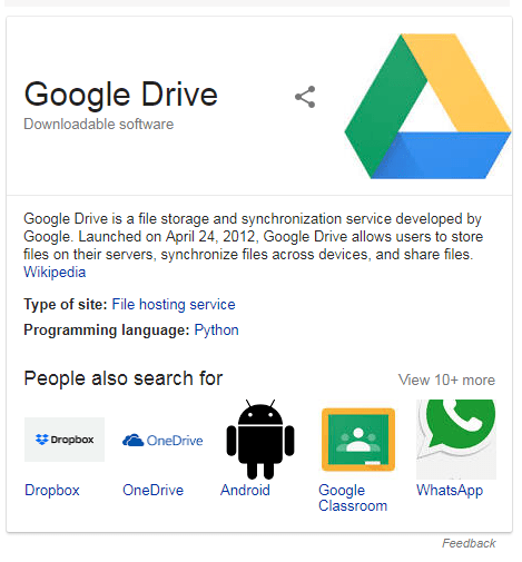 About Google Drive