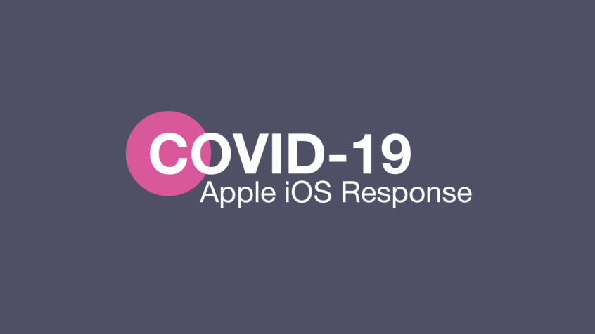 Apple response to COVID