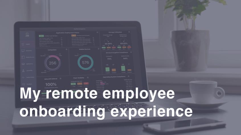 Remote employee onboarding