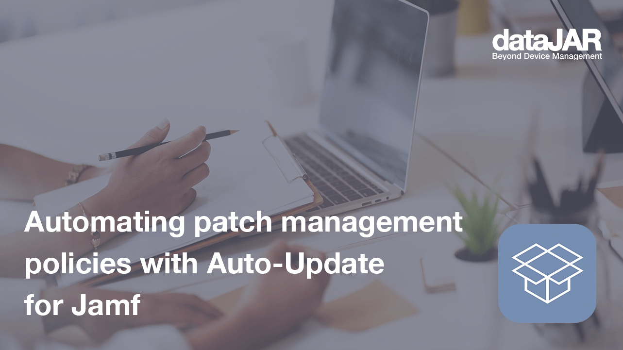 """Featured image for """"Automating patch management policies with Auto-Update for Jamf"""""""