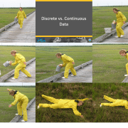 Picture snapshots from the discrete vs. continuous activity.