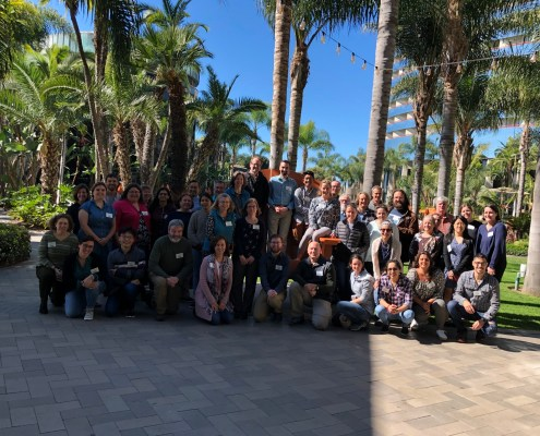 Participants at our 2020 Ocean Sciences Data Labs workshop.