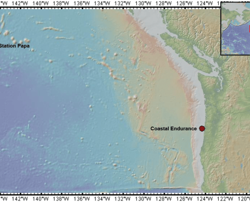 Global Station Papa and Coastal Endurance Arrays