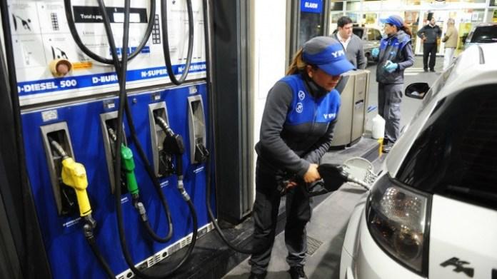 congelarán el precio de combustible