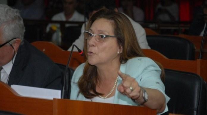 La diputada anticipó presentación ante la Corte de Justicia