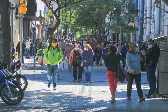 Peatonal Catamarca en Cuarentena