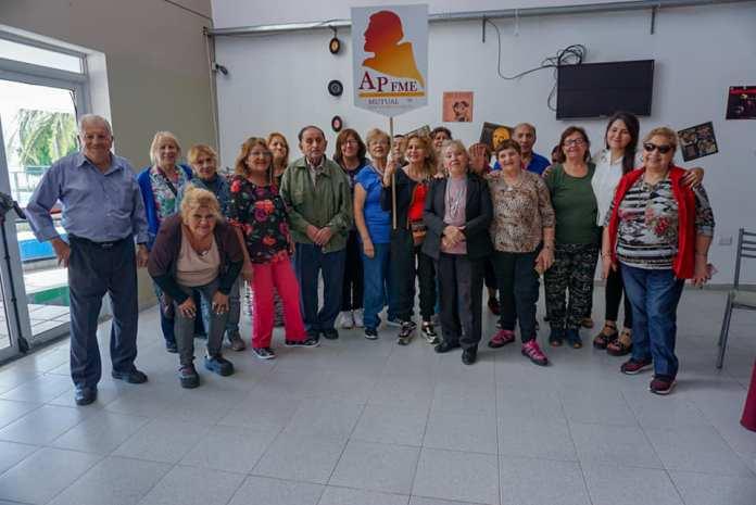 Comisión de la Mutual Fray Mamerto Esquiú en el CIIC 2019
