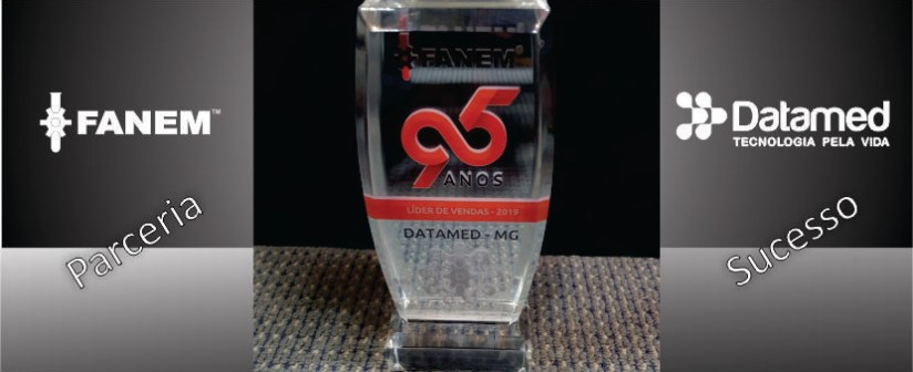 Datamed é premiada em São Paulo durante Convenção de Vendas da Fanem!