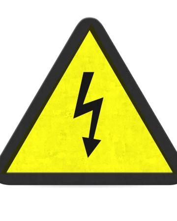 queda de energia aviso