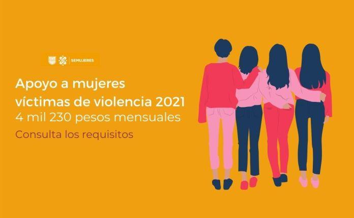 apoyo a mujeres victimas de violencia cdmx 2021 requisitos registro 1
