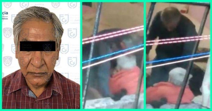 Detienen al sujeto que golpeaba a su madre de 95 años en Tlalpan portada