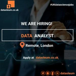 Data Analyst in London