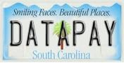 Datapay SC License Plate
