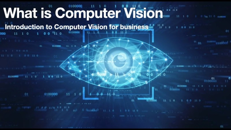 Intro to computer vision