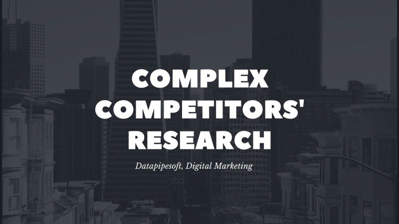 how to do competitors research for website promotion