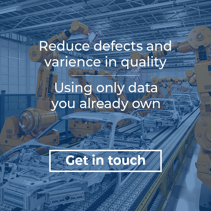 Reduce defects using only your data