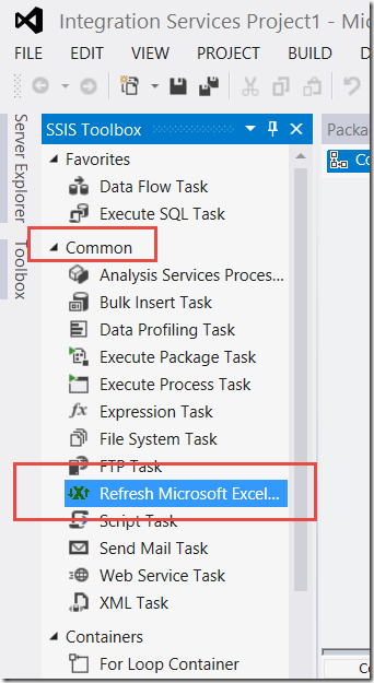 Ssis excel refresh task the data queen preparing your excel workbook connection for auto refresh ibookread