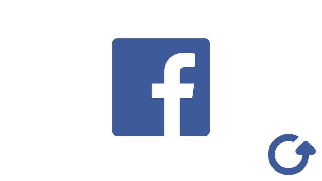 Facebook Account Logo with Recovery Icon