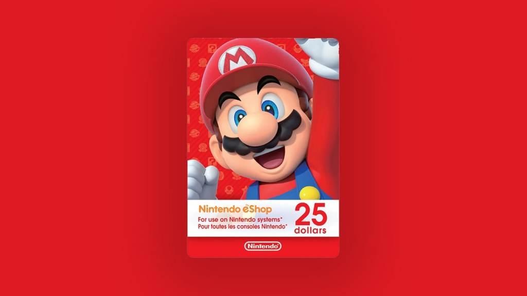 Recover Nintendo eShop Card