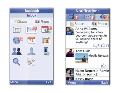 Facebook mobile apps for every phone