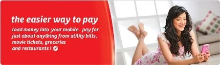 Airtel Money mobile mcommerce book air tickets, merchant services and shopping