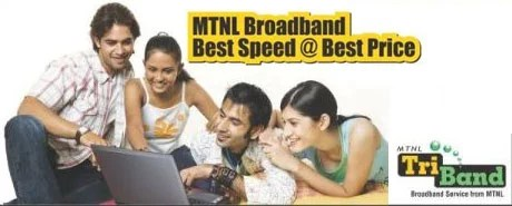 MTNL Mumbai Broadband Plans at 512Kbps minimum speed