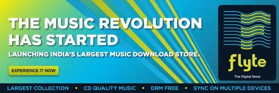 Flipkart Flyte Indian Music Download Store