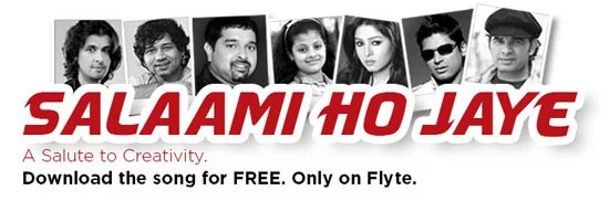 Flipkart Flyte Initiative  'Salaami Ho Jaye' - A Salute to Creativity Music Album