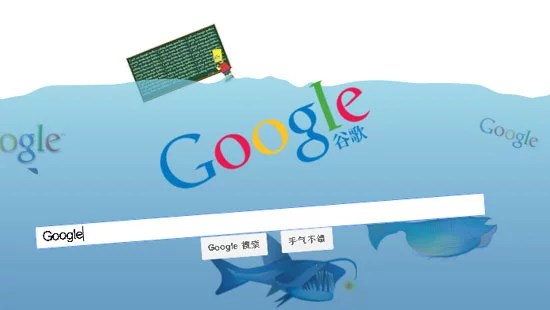 Google Underwater Image search - April Fool