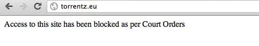 Airtel Broadband ISP blocking torrent Sites