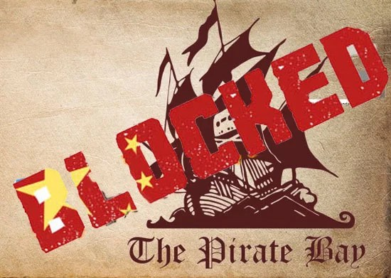 Department of Telecom India Blocks Vimeo,The Pirate Bay and Other Torrent Sites