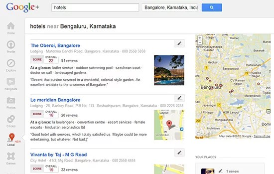 Google Places get Social with Google+ Local and Zagat Integration