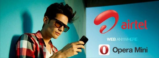 Bharti Airtel Partners with Opera to offer co-branded Opera Mini for customers