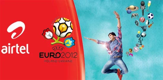 Airtel grabs exclusive Mobile Video Rights for UEFA Euro 2012