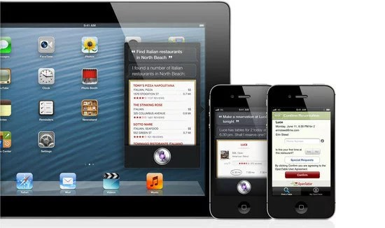 Feature rich Siri with support to iPad's