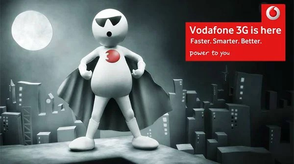 Vodafone brings 3G Services at an Attractive Price Starting from Rs 25