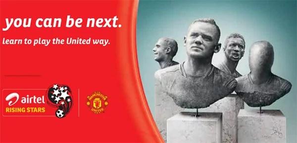 Bharti Airtel and Manchester United kick off of 'Airtel Rising Stars'