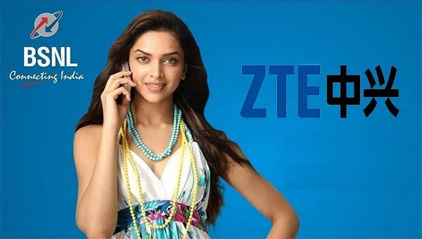 BSNL GSM deal with ZTE to support 10.15 million GSM lines in Northern and Southern zones