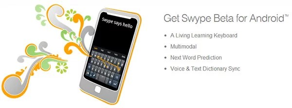 Next Generation Swype for India With Support in Hinglish