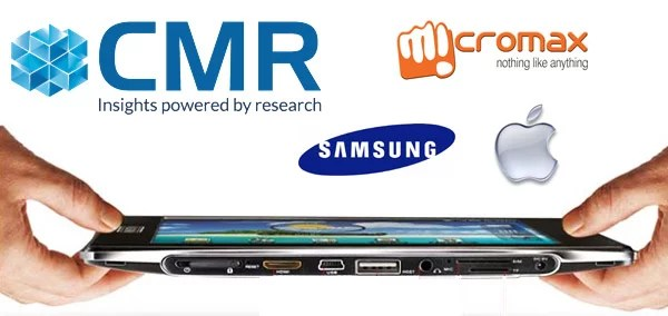 Micromax leads the Tablet market in India, Samsung and Apple Follows