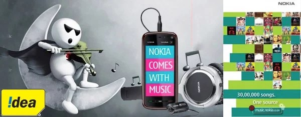 Nokia Partners with IDEA Cellular to bring Carrier Billing for Nokia Music Store