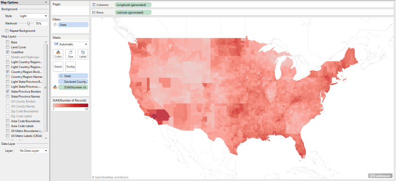 How to Make Small Multiple Maps in Tableau – DataRemixed